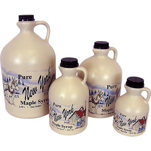 Maple Syrup Jug Quart Wild Hill Maple
