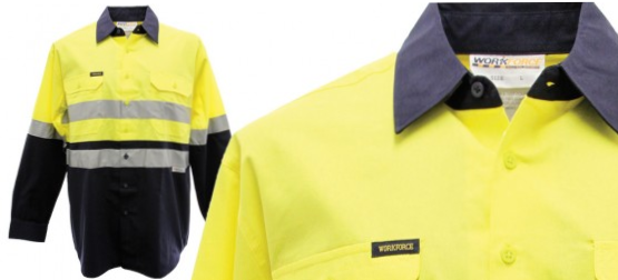 Workforce Taped drill shirt