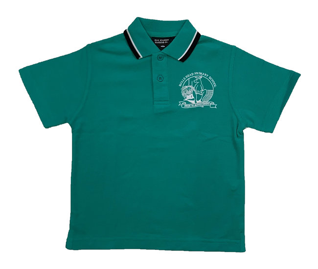 Halls Head PS Polo, Green (LIMITED STOCK)