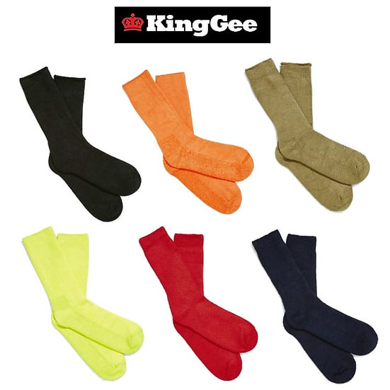 King Gee Bamboo Socks
