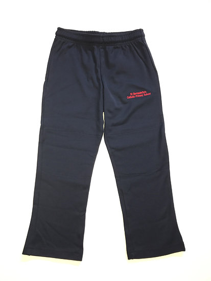 St Bernadette's CPS Tracksuit Pants (Non-Cuffed)
