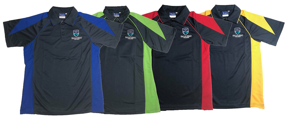 Halls Head College House Faction Polo