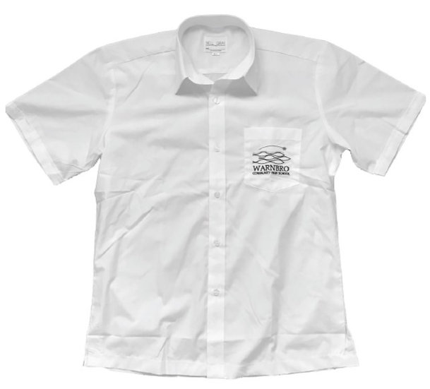Warnbro CHS Senior Shirt (Yrs 10-12), Mens Sizes