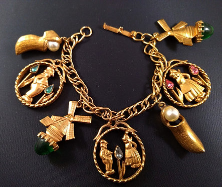 Florenza Dutch Charm Bracelet