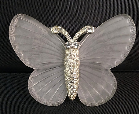 Kenneth Lane KJL Lucite Butterfly Pin