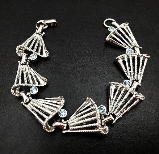 Silver Bells Christmas Bracelet
