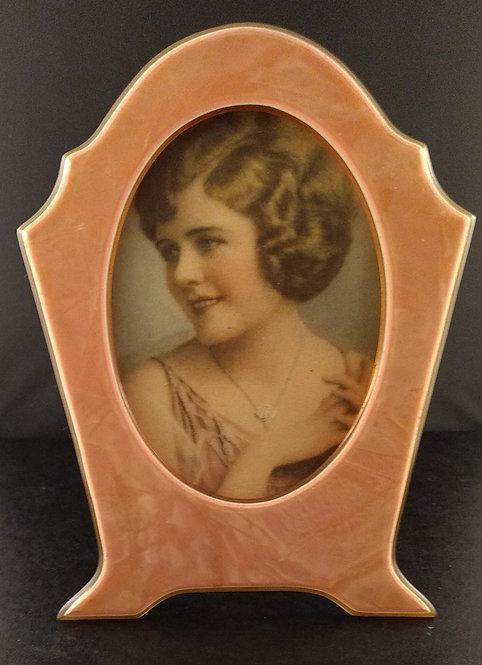 1920's Art Deco Celluloid Picture Frame