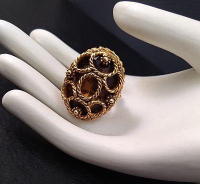 Florenza Topaz Wrapped Ring