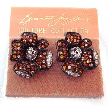 Kenneth Lane Flower Earrings