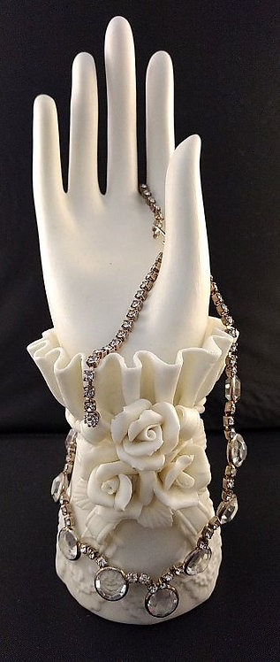 Crystal and Rhinestone Necklace