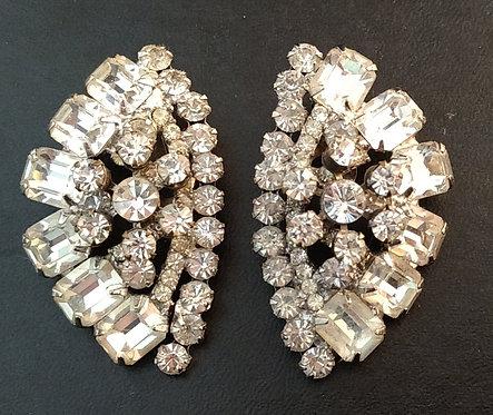 Delizza & Elster D&E aka Juliana Rhinestone Earrings