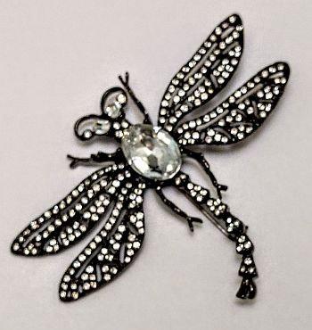 Kenneth Lane Dragon Fly Pin LARGE