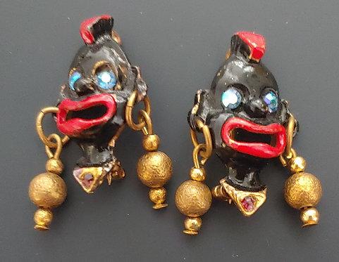 Blackamoor scatter pins