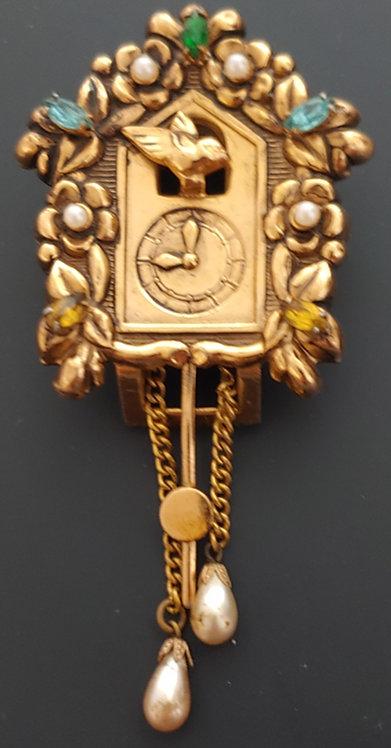 Coro Pegasus Cuckcoo Clock Fur Clip