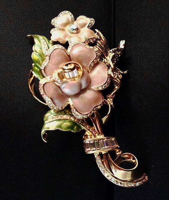 Kirks Folly Cherry Blossom Fairy Pin - j3i33