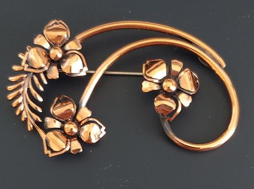 Renoir Copper Pin