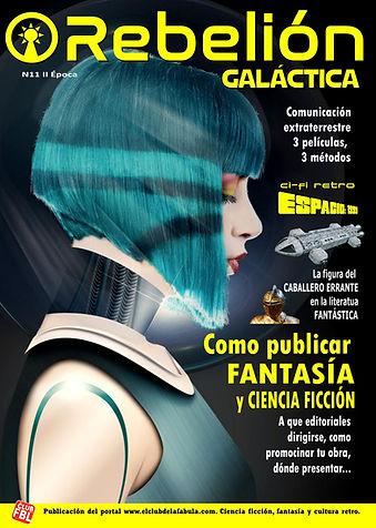 Revista de ciencia ficción  Rebelión Galáctica