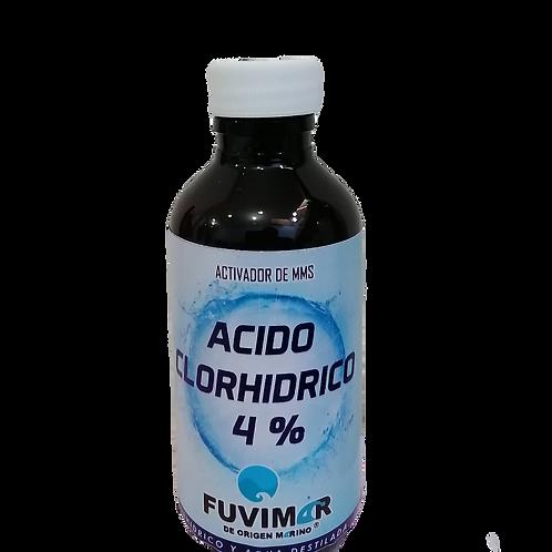 Ácido Clorhídrico al 4% 120 ML