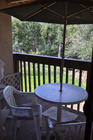 Manor balcony