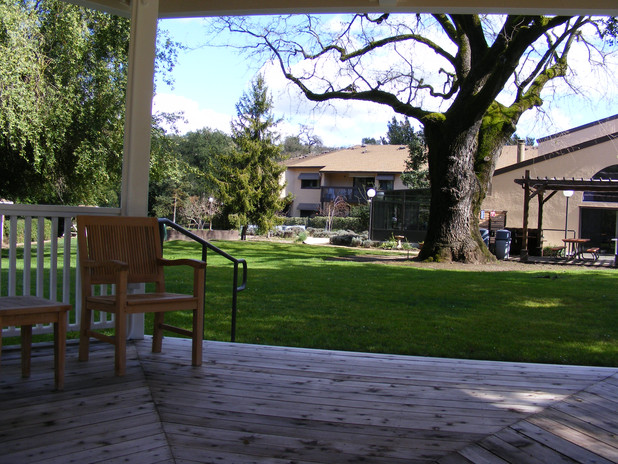 FAHA Manor gazebo view