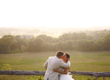 Kelsey & Hayden | Beautiful Sunset Wedding at Diamond H3 Ranch