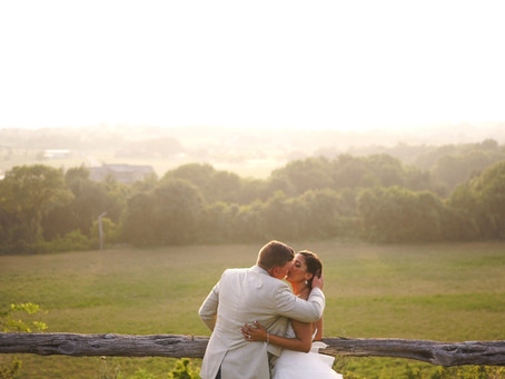 Kelsey & Hayden | Beautiful Sunset Wedding at Diamond H3 Ranch