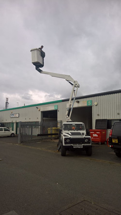 our engineers inspected a rare Land rover boom