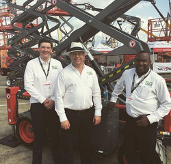 Alex our HSEQ Manager (Left), Paul Latham our CEO (Middle) and Colin Virgo our Sales Director (Right
