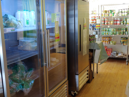 Restaurant supplier helps meet increased need for food shelf refrigeration