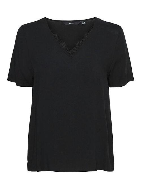 Shirt mit V-Ausschnitt Curve