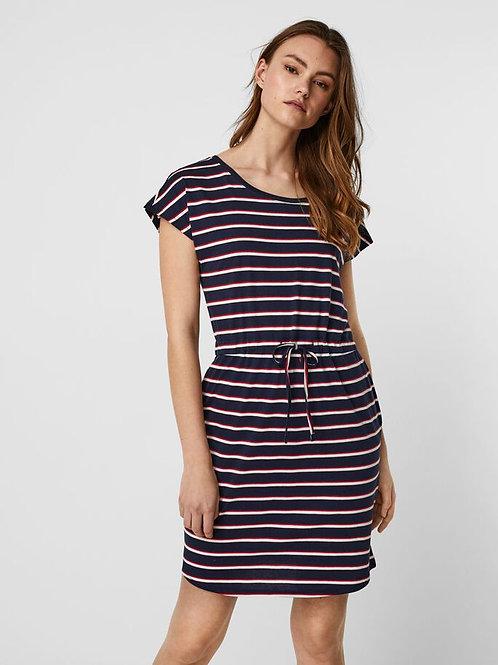 Kleid mit Runhalsausschitt