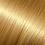 Golden blonde hair extensions for long, full hair