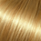 Highlighted blonde halo hair extensions