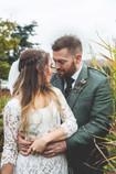 British bride and groom