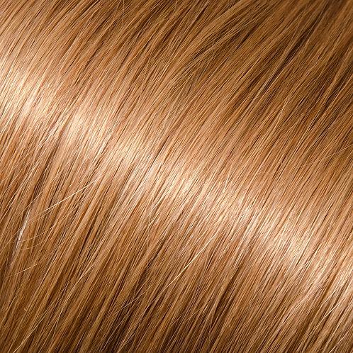 Dark blonde, light brown halo hair extensions