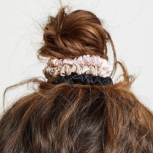 Silk Mini Scrunchies