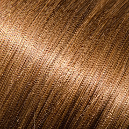 Golden brown halo hair extensions