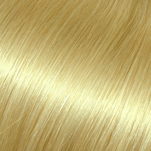 Bleach blonde hair color for halo hair extensions