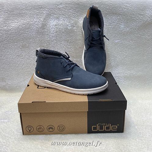 Chaussures Dude Jack bleu marine