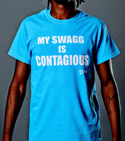 """DOSA™️✝️ """"Contagious Swagg"""" Tee"""