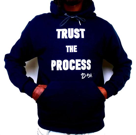 "Deuce Dosa✝️ ""Trust The Process"" Slogan Hoodie"