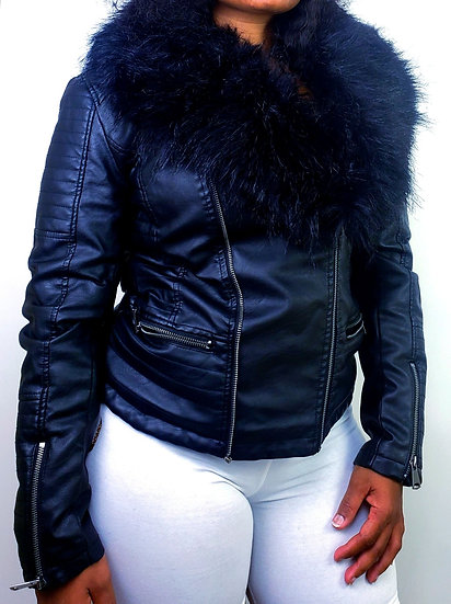 Deuce Dosa✝️ Faux Fur Jacket