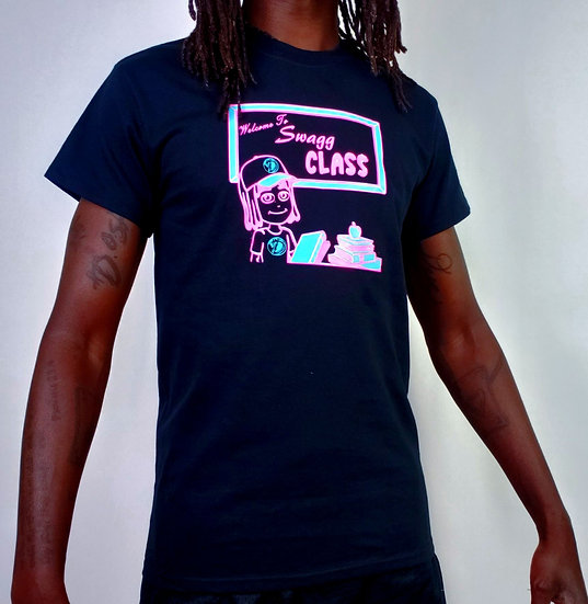 """DOSA®️✝️ MAN """"Welcome 2 Swagg Class"""" Tee"""