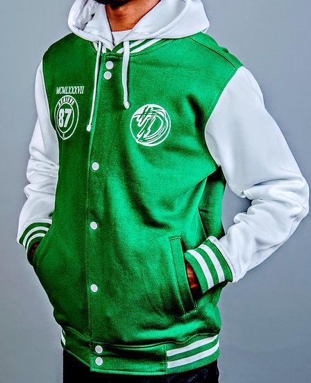 DOSA®✝️ Swagger University Varsity Jacket 🏈⚾🏀