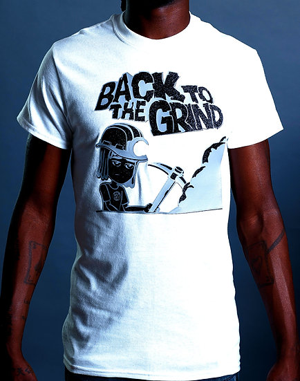 """DOSA®✝ MAN """"Back 2 The Grind"""" Tee"""