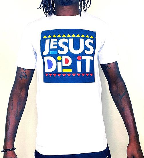 "Deuce Dosa✝️ ""Jesus Did It!"" Tee"