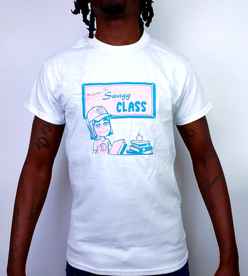 """DOSA®✝ MAN """"Welcome 2 Swagg Class"""" Tee"""