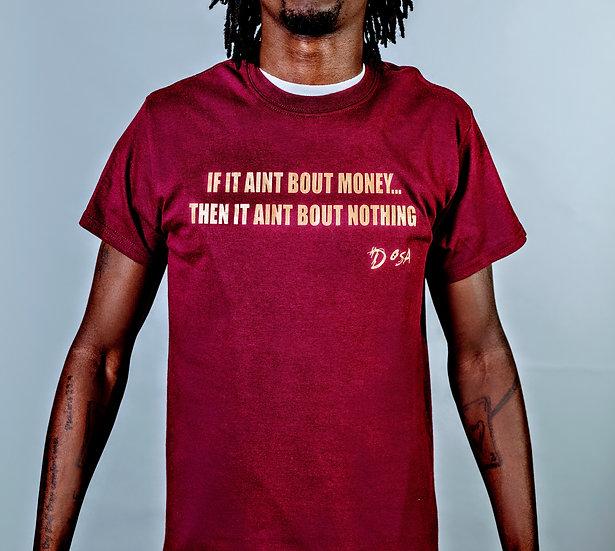 "DOSA®✝️ ""Bout Money"" Slogan Tee"