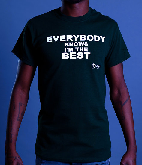 "DOSA®✝ ""Everybody Knows"" Slogan Tee"