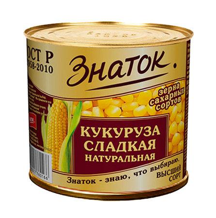 "Кукуруза ""Знаток"" 340гр ж/б"
